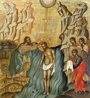 Jesus Baptized, Baptism of Jesus