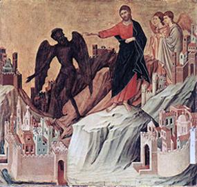 Temptations of Jesus, Jesus Conquers Satan
